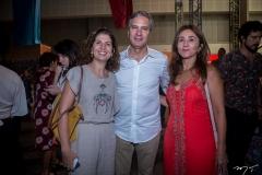 Luciana Lobo, Tiago Santana E Adriana Brasil
