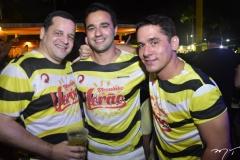 Augusto Borges, Lorenço Rola e Daniel Sidrim