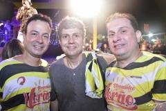 Danilo Serpa, Gerard Albuquerque e Luiz Claudio Morães Correa