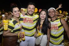 Erica Fernanda, Samuel Alves, Ruth Ferreira e Evandro Martins