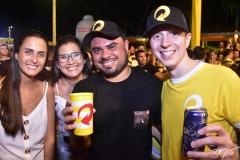 Mariana Regis,Taynar Iane, Julio da Skol e Roberto Mattos