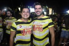 Regis e Armando Vieira