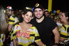 Roberta Andrade e Thiago Colares