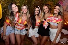 Andressa Gadelha, Marina Guedes, Carine Stefanes e Camile Moura