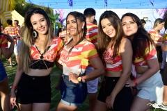 Bruna Carneiro, Isabela Santos, Brena Carneiro e Bianca Guedes