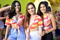Ianna Rodrigues, Camila Lima e Iasmim Talmaturgo