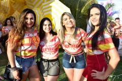 Inês Correa, Ana Beatriz Araujo, Cida Leite e Iandra Vasconcelos