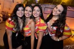 Maria Mesquita, Carolina Couto, Larissa Ferreira e Talita Helga