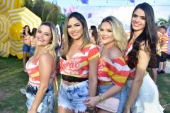 Mirela Senna, Márcia Morães, Mariana Garcia e Monica Miranda