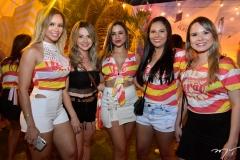 Naty Cavalcante, Thais Feitosa, Prisicila Cavalcante e Fernanda Oliveira