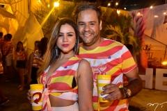 Priscila Cavalcante e Elio Freitas