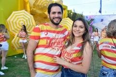 Ramiro Rolim e Erica Valentin