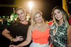 Germana Pontes, Paula Baquit e Alzira Bezerra