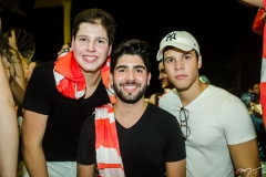 José Lindoval, Deib Otoch Neto e Ivan Rodrigues