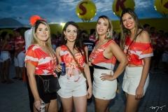 Milena Albano, Ana Cláudia, Gabriela Arcanjo e Deise Ferreira