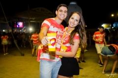 Paulo Airton e Rayssa Lopes