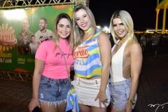 Brenda Lima, Andrea Oliveira e Zalu Roças