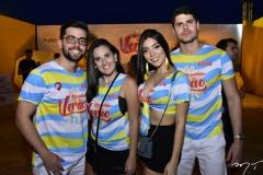 David Araujo, Leticia Braga, Mariana Morães e Luiz Ramalho