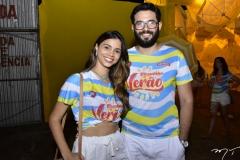 Jessica Matos e João Manoel