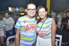 Jorge Farias e Denise Campos