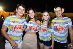 Juan Lucas, Leticia Meneses, Alexia Larboda e Carlos Cardoso