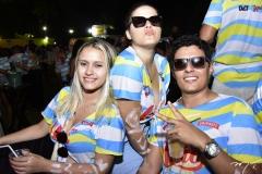 Maria Eduarda Tavares, Sara Rodrigues e Itálo Maia