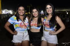 Sara Virginia, Mayra Rosa e Amada Saunds