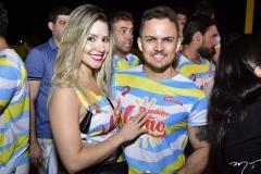 Thalyze de Paula e Samuel Carvalho