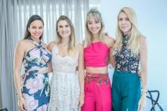 Camila Lima, Flávia Abelleira, Cintia Bentes e Luciana Ratts
