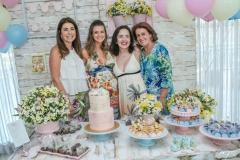 Denise Montenegro, Rafaela Scienza, Patricia Montenegro e Norma Câmara