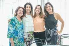 Norma Câmara, Denise Montenegro, Marcela e Carla Studart