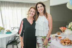 Vânia Scienza e Denise Montenegro