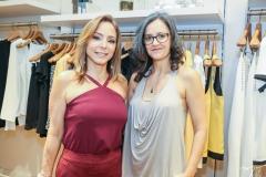 Ana Paula Daud e Fernanda Quetez