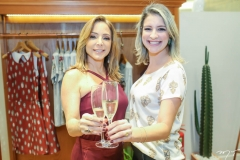 Ana Paula Daud e Leiliane Pinheiro