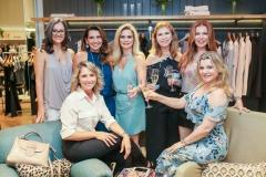 Fernanda Quetez, Márcia Travessoni, Germana Wanderley, Socorro Rodrigues, Cláudia Quental, Katiane Valença e Silvana Guimarães