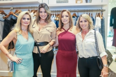 Germana Wanderley, Carol Melo, Ana Paula Daud e Katiane Valença