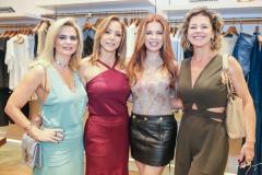 Germana Wanderley, Ana Paula Daud, Cláudia Quental e Ana Cristiana Wolf