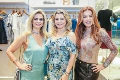 Germana Wanderley, Silvana Guimarães e Cláudia Quental