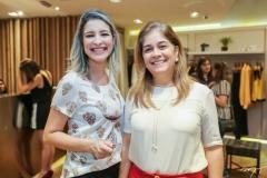 Leiliane Pinheiro e Lecilda Cavalcante