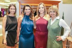 Thais Angeloni, Márcia Travessoni, Ana Paula Daud e Vera Furtado