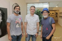 Angelo Vettorazzi, Heráclito Vieira e Luis Santos