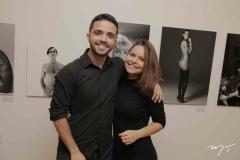 Lucas Jatahy e Juliana Santos