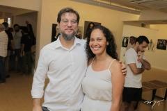 Rodrigo Lourenço e Maira Ortiz