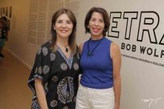 Tânia Vasconcelos e Cristina Romcy