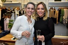 Érika Queiroz e Ana Paula Daud