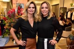 Germana Cavalcante e Ana Paula Daud