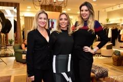 Raquel Carioca, Ana Paula Daud e Carol Mello