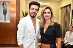 Romário Brandão e Germana Cavalcante