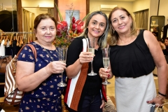 Socorro Lima, Norma Andrade e Amélia Elder