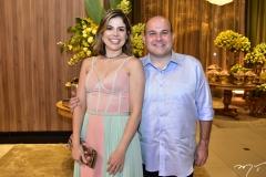 Carol e Roberto Cláudio Bezerra